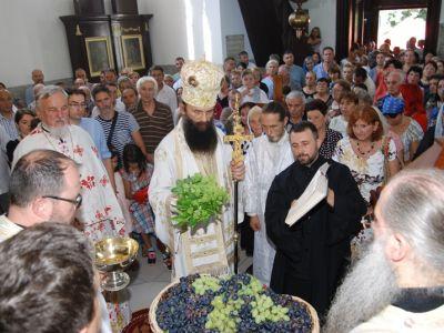 Bogosluženje u sokobanjskoj crkvi