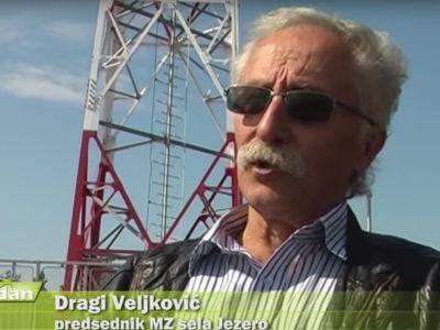 Dragi Veljkovic, predsednik MZ Jezero