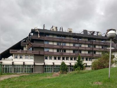 Izgoreo Hotel Zdravljak u Sokobanji
