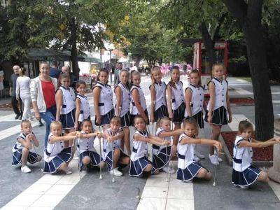 Mažoretkinje obeležile vikend u Sokobanji