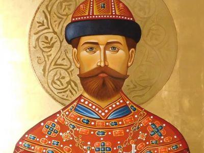 ikona Svetog mučenika cara Nikolaja Romanova