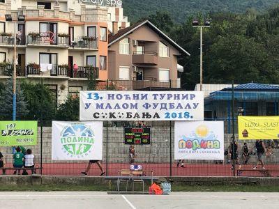 Vredne nagrade za prvoplasirane u 13. Noćnom turniru u malom fudbalu