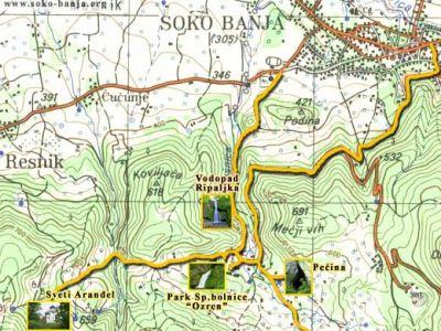 Mape, karte i planovi