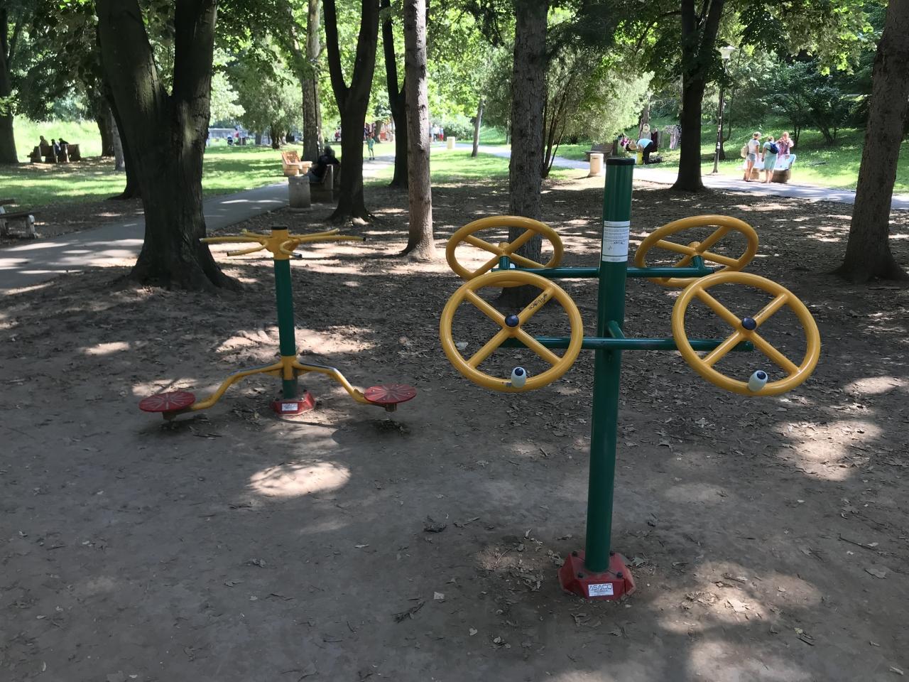 teretana u banjičkom parku