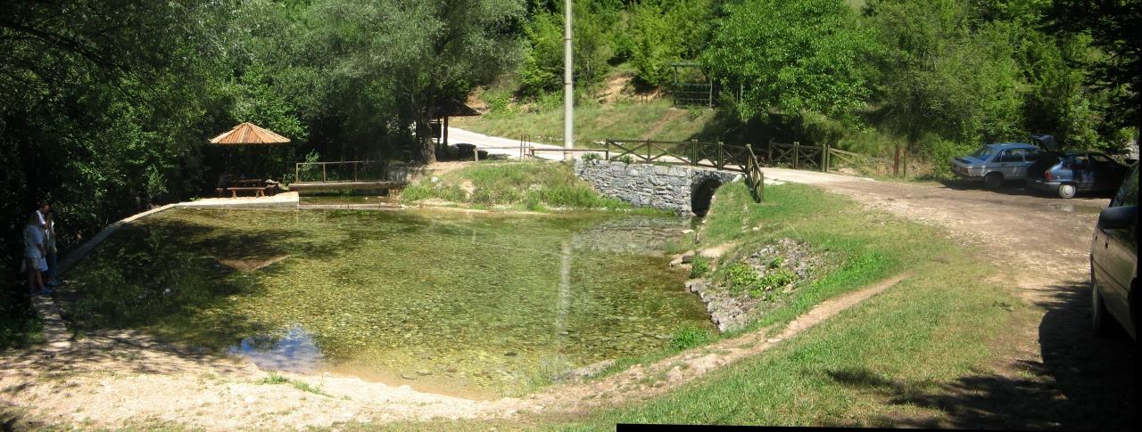 Vrelo - izvor reke Moravice