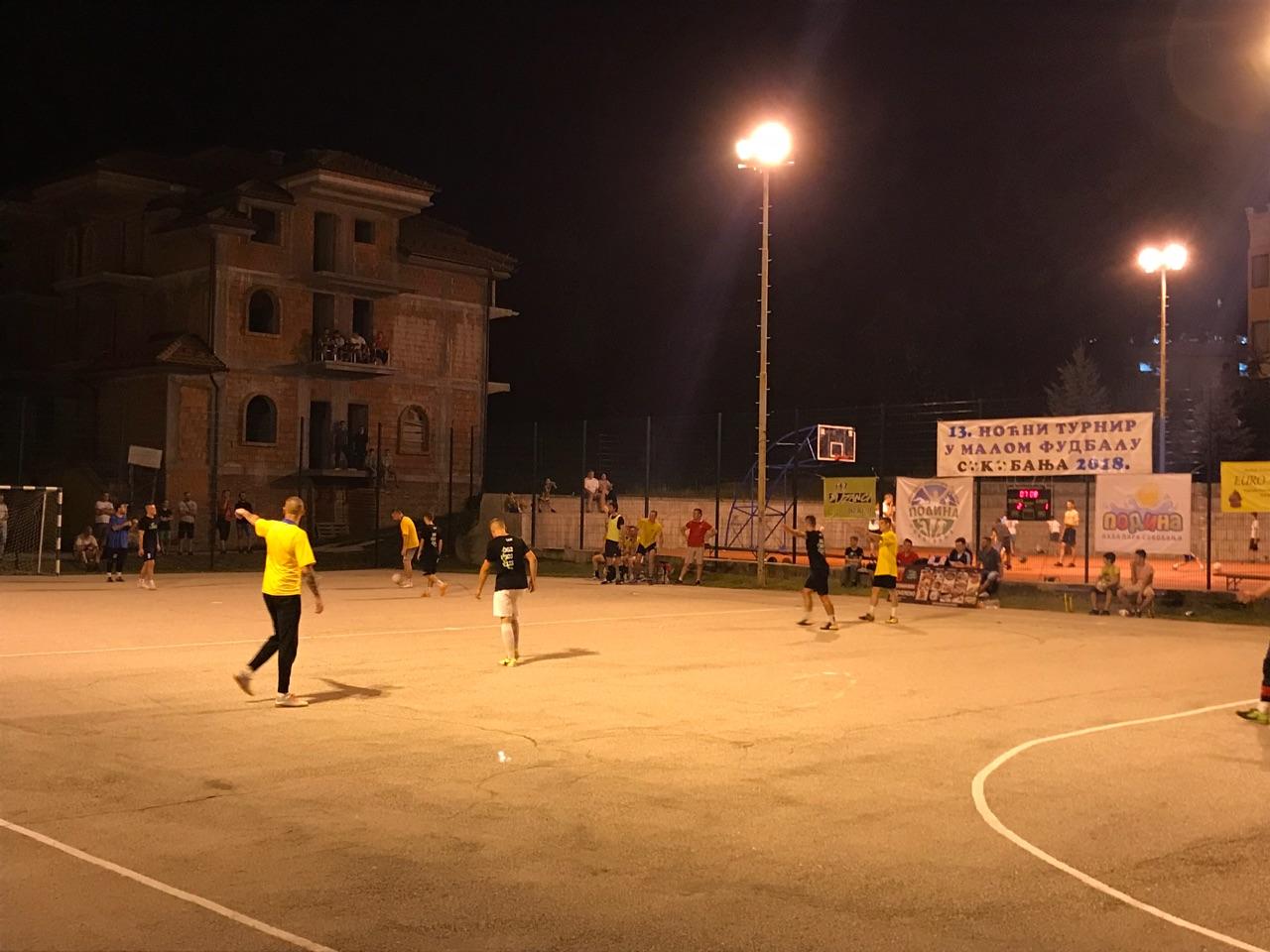 Noćni turnir u malom fudbalu