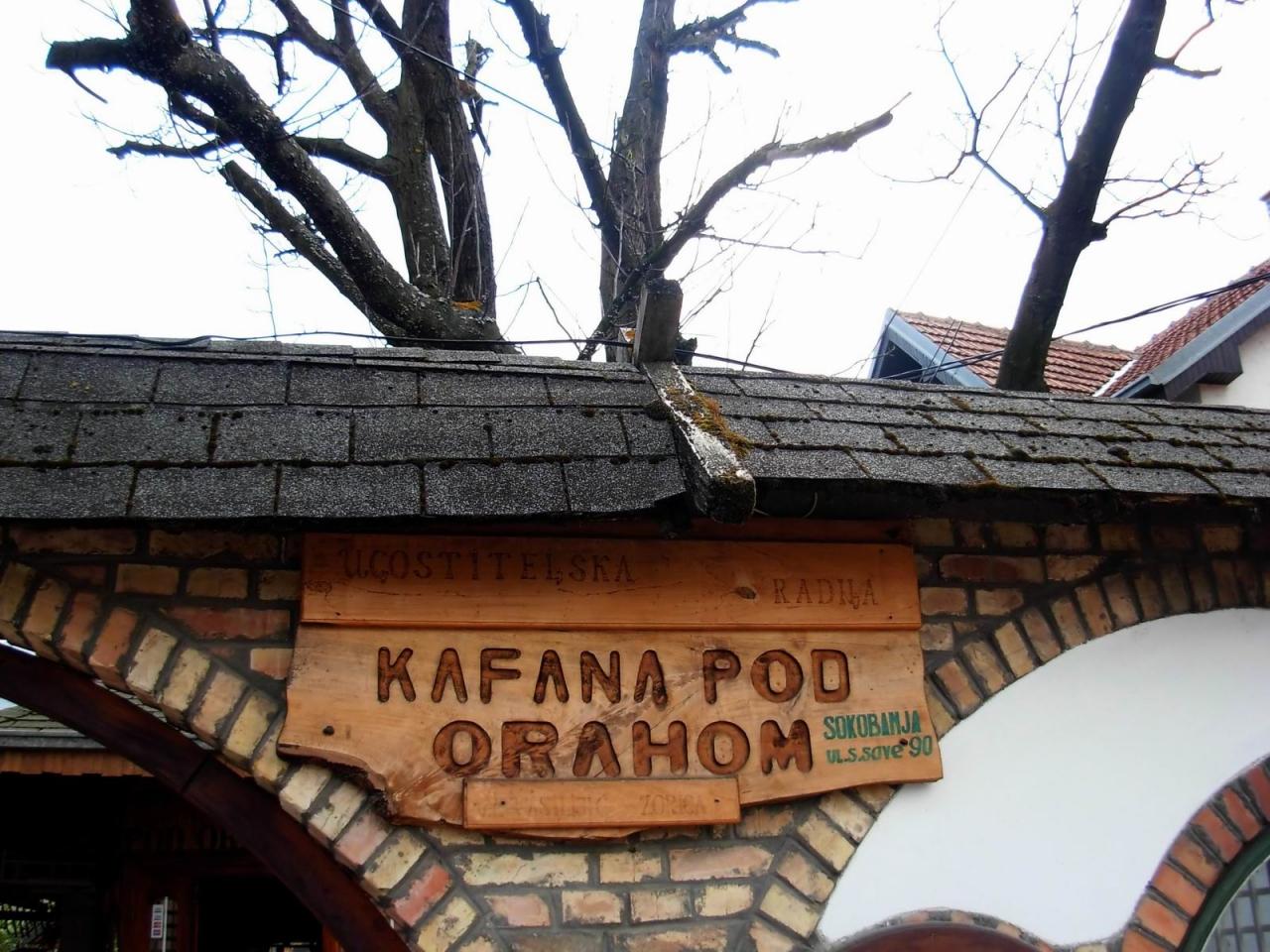 """Kafana """"Pod orahom"""""""