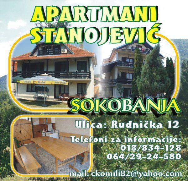 """Apartmani """"Stanojević"""""""