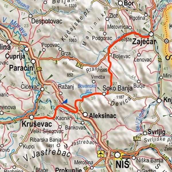 Karta Srbije Rtanj Superjoden